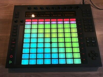 Ableton Push 1 - DAW Controller - Music Pad - TOP