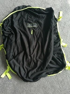 Snooze Shade Black Yellow Zip