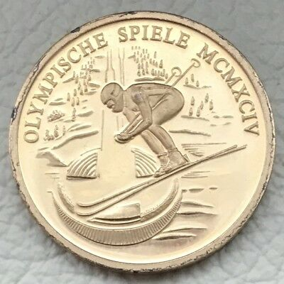 Medaille * OLYMPIC GAMES 1994 • OLYMPISCHE SPIELE  MCMXCIV * Ø 30 mm,  12 g