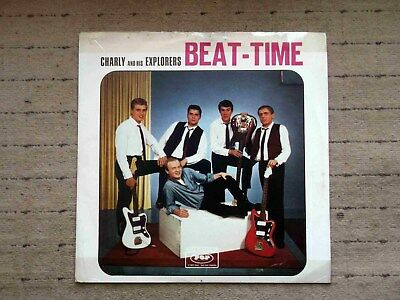 Lp Charly And His Explorers - Beat  -  Time - Ultrarar