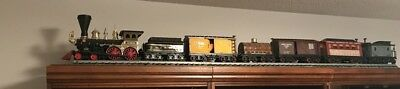 Vintage Collectibles Jim Beam Collector Decanters  Train Set And Track