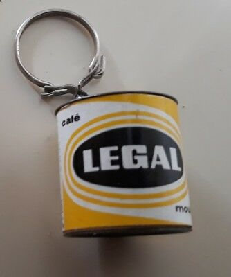 porte clefs LEGAL JAUNE