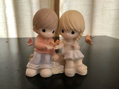 Precious Moments Figurines You Give Me Butterflied