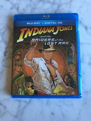Raiders of the Lost Ark (Blu-ray Disc, 2013) NO Digital Copy