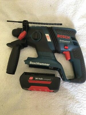 BOSCH GBH 36V-EC BRUSHLESS COMPACT SDS CORDLESS HAMMER DRILL - BODY + 1 Battery