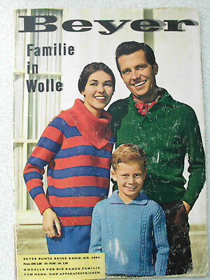 "Beyer ""Familie in Wolle"" - 1959 - Modelle zum Stricken"