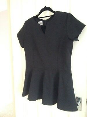 Florence Roby Beauty Peplum Top size 14