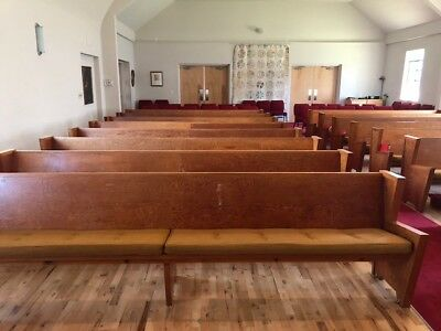 Vintage Church Pews- 13  are available