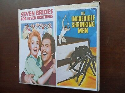 Super 8 film trailers Incredible Shrinking Man + 7 Brides for 7 Brothers