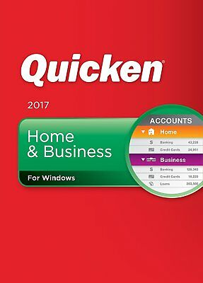 Quicken 2017 Home & Business Personal Finance & Budgeting