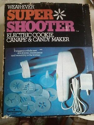 Wear-Ever Super Shooter Cookie Replacement Parts 70001