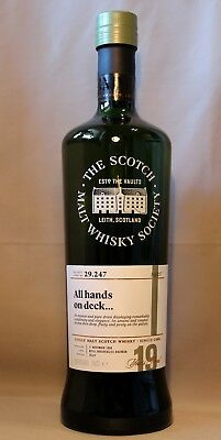Laphroaig 1998 aged 19 years SMWS 29.247 All hands on deck 59,4vol%70cl