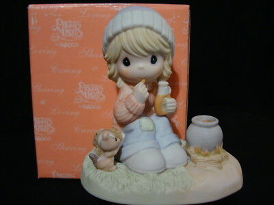 Precious Moments-VERY RARE Canadian Exclusive Limited Edition-Maple Syrup