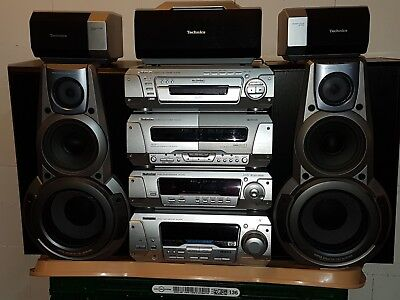 Technics Dolby Surround 5.1 Anlage