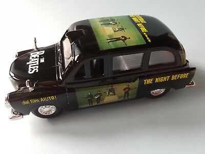 The Beatles - London Taxi - Die Cast Collectable - Yesterday The Night Before
