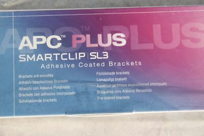 APC Plus Smartclip SL 3 ; Adhesive Coated Brackets ( 20 Stck )