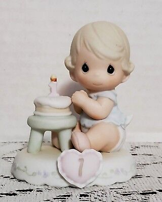 Vintage Precious Moments 1994 Enesco Growing In Grace Collection #136190 ~ Age 1