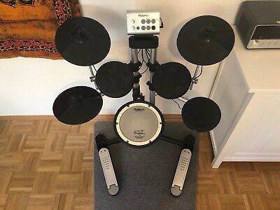 Roland HD-1 Electronic Drum Kit mit Mesh Head Snare Drum