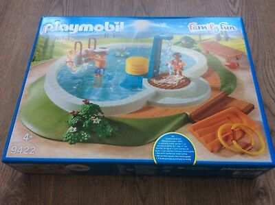 "NEU!!! PLAYMOBIL 9422 Family Fun ""Swimmingpool"""