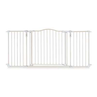 North States Deluxe Decor Baby Pet Metal Gate 38-72 Inches Wide 4954S (Open Box)