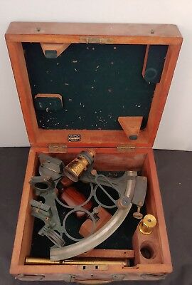 Antique J. Sewill Sextant Presented To The Royal Navy Liverpool