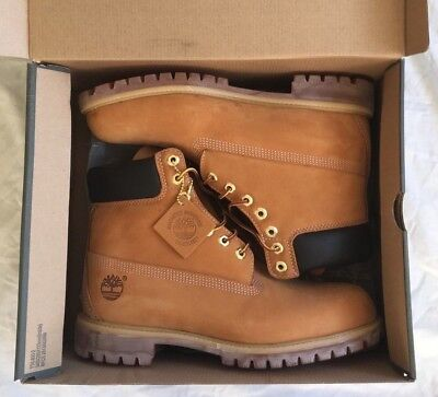 a8dc697dfe20 New Timberland Mens Classic 6inch Wheat Nubuck Leather Boots UK 10  EU 44.5  NEW condition.