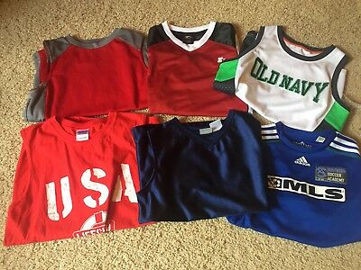 Boys Clothes Shirt Tank Lot Size L, Back To School, Sports