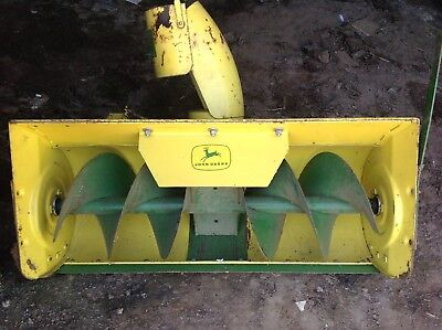 John Deere Vintage ( HEAVY DUTY EARLY STYLE ) Snow Blower Great Condition