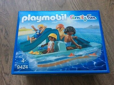 "NEU!!! PLAYMOBIL 9424 Family Fun ""Tretboot"""