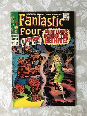 Marvel Comics Fantastic Four # 66 1967 VF+