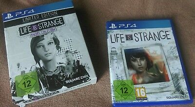 Life is strange ps4 limited edition. before the storm + season 1 life is strange