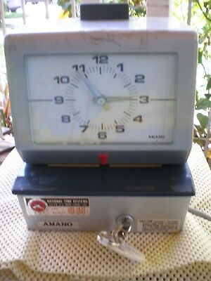Amano Punch Clock ~ Used