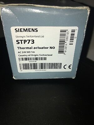 SIEMENS STP73, electrothermal actuator - NEW