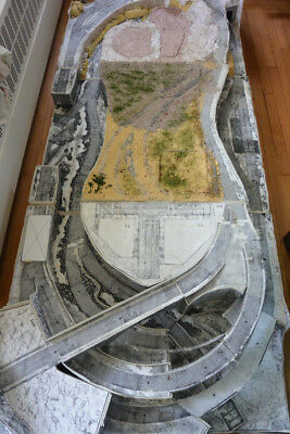HO (or N or Z) Model Railroad Layout - fully built but needs additional scenery