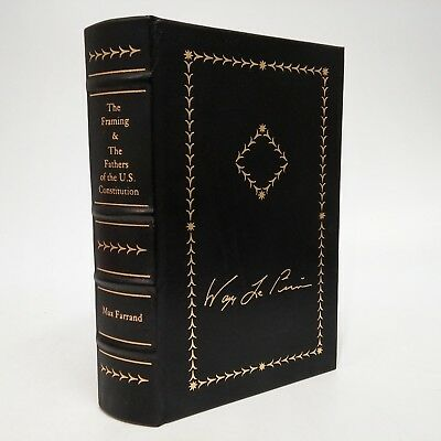 The Framing Of The Constitution & The Fathers Of The Constitution LEATHER Farran