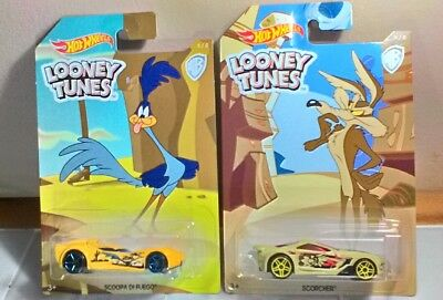 Hot Wheels Looney Tunes Road Runner & Wile E. Coyote 2009