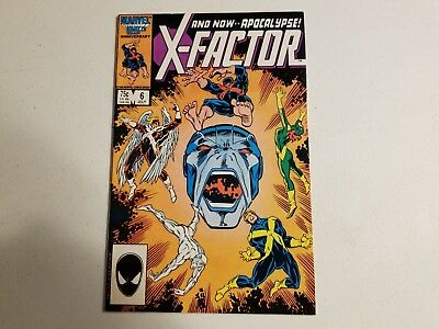 X-Factor 6 First Apocalypse Higher Grade Key Book