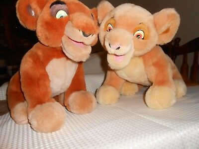 RARE LION KING SIMBAS PRIDE Interactive Talk n Sing KIARA & KOVU Plush Animals