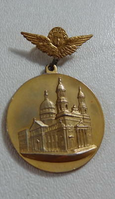 1912 New York City Medal Laying Of Cornerstone Church Of The Fathers Of B