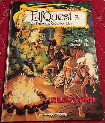 Rare Elfquest French Hardcover Book 8 Wendy Pini