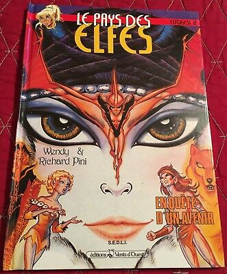 Rare Elfquest French Hardcover Book 12 Wendy Pini