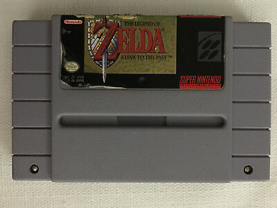The Legend of Zelda: A Link to the Past (Super Nintendo SNES, 1992)
