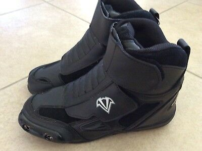 Vega Merge Motorcycle Boots womens size 9 Mens 7