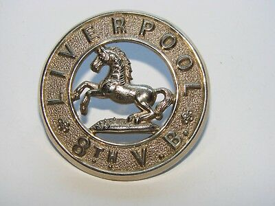 8th (Scottish) Volunteer Batt'n Sporran Badge (Kings Regt Liverpool) circa 1900