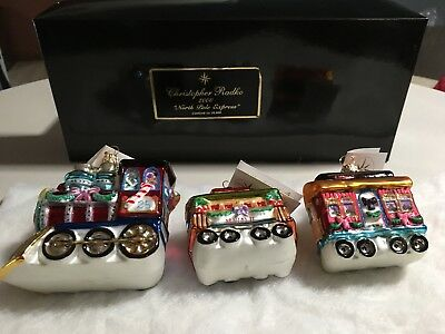 Christopher Radko 2000 North Pole Express Limited Edition