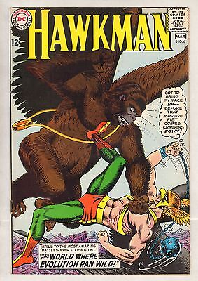 Hawkman #6 (VF) (1965, DC) HIGH GRADE!