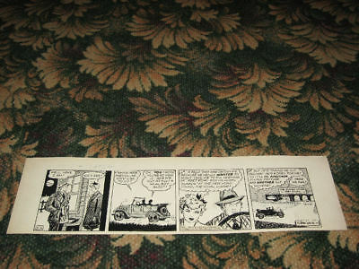 1946 Raeburn Van Buren ABBIE an' SLATS Daily Comic Strip ORIGINAL ART Nice!