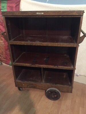 Antique ALLSTEEL cabinet by the General Fireproofing Co.