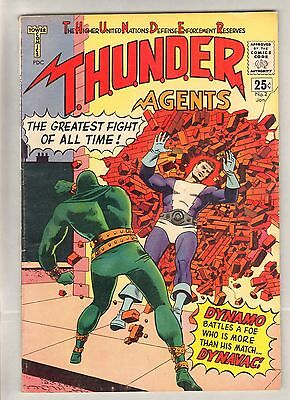 Thunder Agents #2 (FN+) (1966, Archie) Sharp!