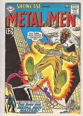 Showcase #40 (FN+) (1962, DC) [d] 4th Metal Men!